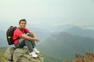 Fall in Mudeungsan Mountain South Korea